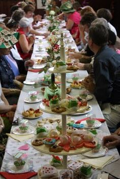 Mad Hatter's Tea Party -- This particular party was produced for adults and is a great idea for children (of all ages)!