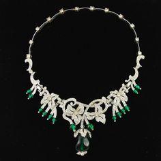 """Kramer """"Crown Jewels"""" necklace"""