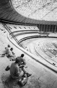 The Astrodome in Houston, TX Houston Astros, Houston Tx, Baseball Park, Baseball Stuff, Texas Pride, Field Of Dreams, Texas History, Texas Rangers, Back In The Day