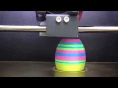 AMAKER 3D printer in action - Multi Color 3D printing - YouTube