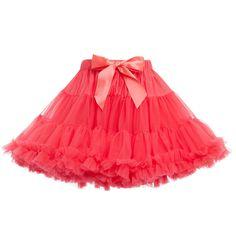 ANGEL'S FACE Poppy Red Chiffon Frilled Tutu Skirt