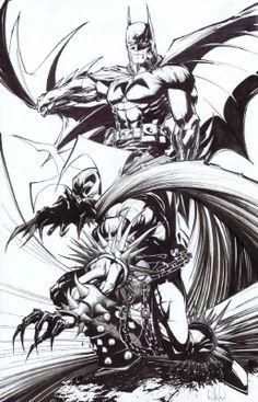 Batman & Spawn - Whilce Portacio