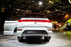 2016 Mitsubishi Ground Tourer Concept  #2016MY #Concept #Mitsubishi #PHEV #Segment_J #Japanese_brands #Paris_2016 #Mitsubishi_Ground_Tourer