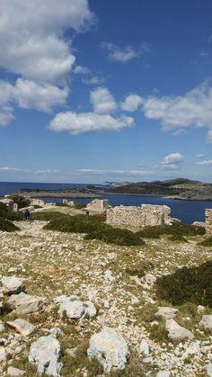 Mana island Kornati Croatia