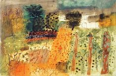 John Piper- so nice colours Abstract Landscape, Landscape Paintings, Abstract Art, Landscape Drawings, Paintings I Love, Beautiful Paintings, Garden Painting, Painting & Drawing, John Piper Artist