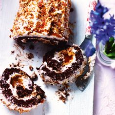 You can't go wrong with this salted caramel roulade at Christmas. It's a real treat!