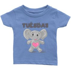 Tuesday T-shirt (Infants) Tuesday, Infants, Best Deals, Toddlers, Kids, Baby, T Shirt, Clothes, Young Children