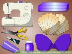 Image titled Make a Disney's Ariel Mermaid Costume Step 1