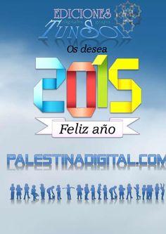 Feliz año nuevo 2015 / Revista PALESTINA DIGITAL - Enero 2015