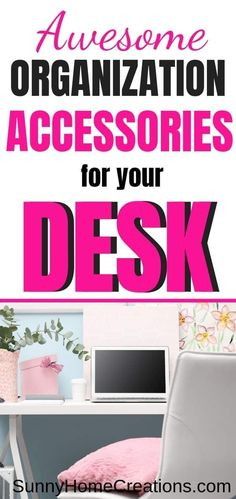 Desk Organizers for Your Home Office – office organization at work desks Teacher Desk Organization, Cubicle Organization, Desk Organizer Set, Desktop Organization, Teacher Desks, Organizers, Kitchen Organization, Office Necessities, Small Workspace