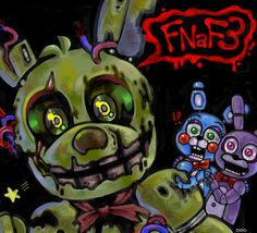wooohoo FNaF3 by XxoNo on DeviantArt