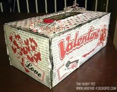 Happy memories --Remember making boxes for valentines in elementary school?