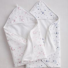 Moon & Star Organic Baby Collection - Hooded Towel at The Company Store - Bath - Baby - One Size Gadget, Moon Stars, Biscuit, Monogram Shop, Outdoor Cushions And Pillows, The Company Store, Star Wars, Baby Towel, Baby Girl Names