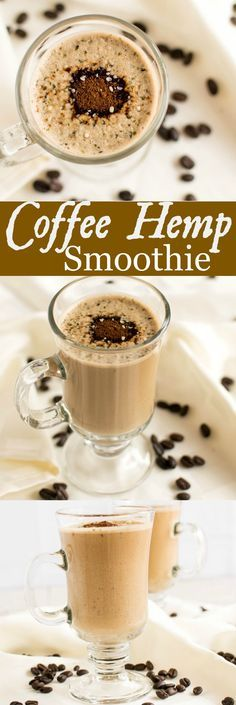 Coffee Hemp Smoothie is the best bet which satisfies the cravings for caffeine and provides adequate nutrition to the body with hemp milk and super food hemp seeds | kiipfit.com