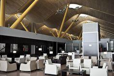 The Amnios Lounge at Spain Madrid - Barajas Satellite Terminal