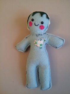 Good Luck Scented Love Voo Doo Doll by PlachiPlushies on Etsy, $10.00
