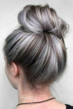 Leave what dark I have and color the grey from ulta light blonde to grey