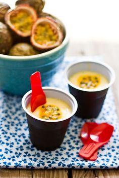 Mousse de Maracuja (Passion Fruit Mousse). One of my favorite brazilian desserts!!
