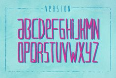 VersionType - A Free Font by Victor Coreas, via Behance