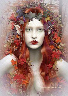 Fairy Artwork Maxine Gadd is a published fairy artist