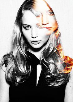 Jennifer Lawrence - AMAZING photoshop effect.