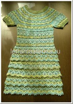 Sent from my BlackBerry  Beautiful sampler stitch crochet dress
