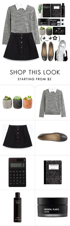 """""""♫Hello, it's me I was wondering if after all these years you'd liketo meet to go over everything."""" by britney-brit ❤ liked on Polyvore featuring Shop Succulents, Steffen Schraut, Zara, Fitzwell, CASSETTE, Muji, Lancôme and Koh Gen Do"""