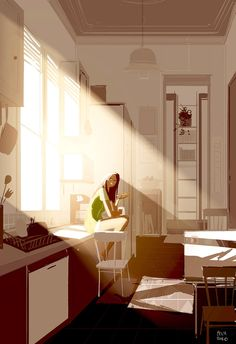 pascal campion: Sunshine, bread, and Nutella.