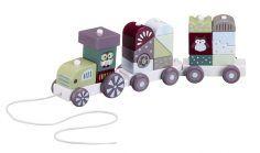 Kids Concept kaladėlių traukinukas