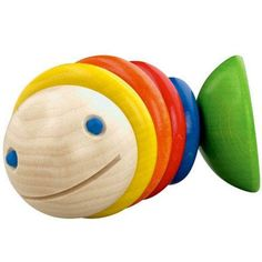 Surprise your littlest ocean fan with the Moby Clutching Baby Toy. This fun and silly toy delivers a whale of a time filled with discovery and development. As s