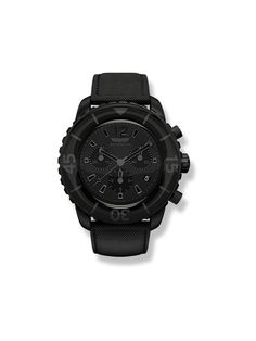 Skywatch - Chronograph: Black IP All Black 44mm Watch
