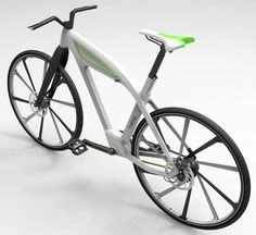 eCycle Electric Bike designed by Milos Jovanovic