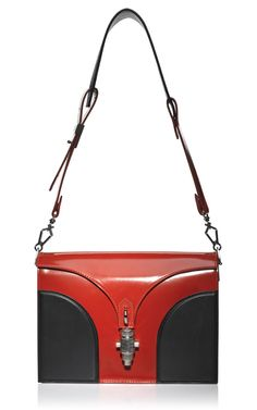 Long Strap Mixed Material Handbags. Proenza Schouler S/S 2013. #accessorytrends #handbags