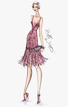The Great Gatsby #sketches #bocetos #moda