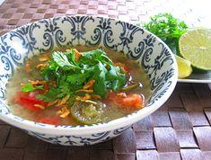 ハラペーニョのスープ