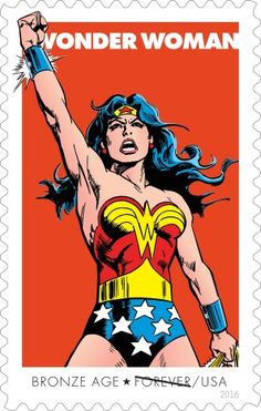 Wonder Woman's anniversary to be celebrated on Forever stamps Wonder Woman Art, Wonder Woman Comic, Wonder Woman Quotes, Wonder Women, Star Comics, Bd Comics, Comic Book Characters, Comic Books Art, Comic Art
