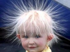 Static Hair Kid - Cute Kids Pictures on We Heart It Funny Videos, Funny Babies, Cute Babies, Funny Boy, Funny Happy, Justin Bieber Jokes, Static Hair, Static Shock, Indian Funny