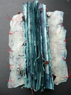paper | Tricia North I love blue and red together