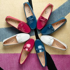 Color blossoms  the iconic Tod s Gommino in new models. Choose your  favorite at tods 28d977727c227