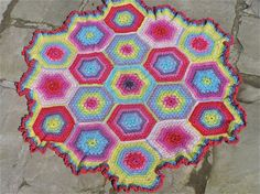 pure silk and sparkle crochet baby blanket by thespannerworks, $230.00