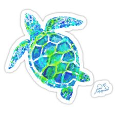 Sea Turtle no splots by Jan Marvin Stickers Samsung Galaxy Cases, Iphone Cases, Laptop Cases, Turtle Birthday, 7th Birthday, Laptop Stickers, Surf Stickers, Wallpaper Iphone Cute, Brighten Your Day