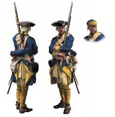 Swedish private (1700-1721) - Front and back view by ManuLaCanette on DeviantArt
