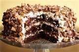 Chocolate Peanut Butter Cup Cake with Peanut Butter Buttercream