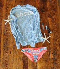 Top- Costa Del Mar Bottoms- Alana's Closet by Ripcurl Sunglasses- Pawleys by Costa Del Mar Perfume- Beach by Bobbi Brown