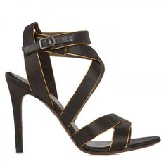 Satin Sandals by Lanvin