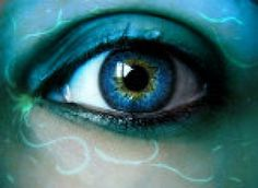 Imagine if people were born with eye color that were all the shades of the rainbow  And that was their instead of race