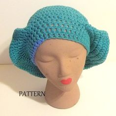 My 70's Slouchy Hat  Throw Back Hat Pattern  by SherrylsDream
