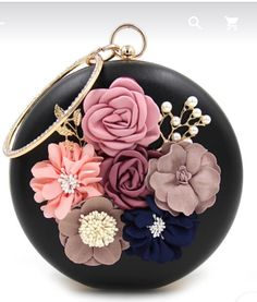 AliExpress - Round Flower Clutch