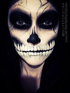 face paint | Halloween costumes | Pinterest | Skeleton face paint ...
