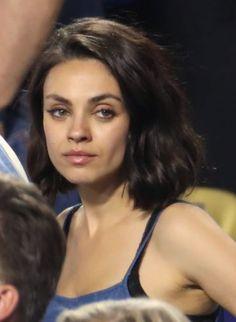 Mila Kunis lob haircut